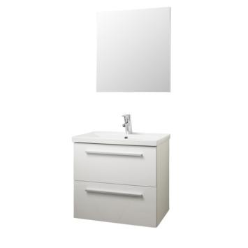 Meuble de salle de bains Sienna Atlantic blanc 60 cm