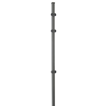 Betafence Bekafor paal Click 110 cm antraciet