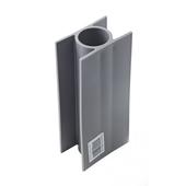 Guide-plaque béton 3,8x20 cm gris