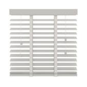 Store vénitien GAMMA 944 bois 50 mm blanc 100x180 cm