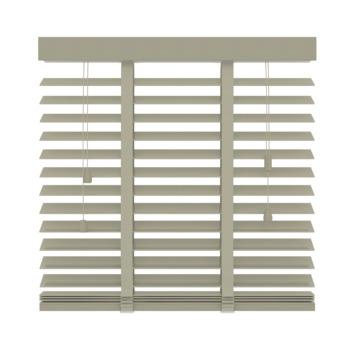 GAMMA horizontale jaloezie  945 hout 50 mm leem 140x220 cm