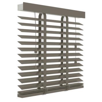 GAMMA horizontale jaloezie hout 50 mm 946 taupe 120x180 cm