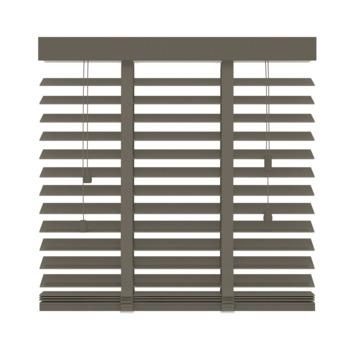 GAMMA horizontale jaloezie hout 50 mm 946 taupe 200x220 cm