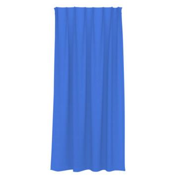 GAMMA kant en klaar gordijn plooiband uni 1161 blauw 140x180 cm