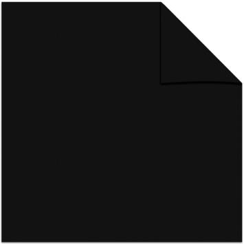 GAMMA kant en klaar gordijn plooiband verduisterend 1167 zwart 140x280 cm