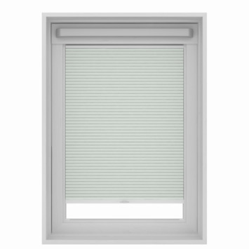 Store plissé pour fenêtre de toit GAMMA 7100 blanc 55x78 cm