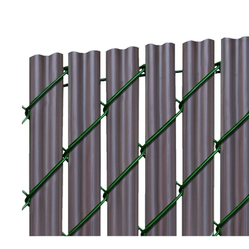 Lamel Florida donker hout 125x200 cm