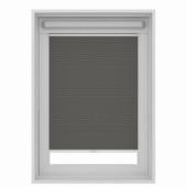 Store plissé pour fenêtre de toit GAMMA 7101 gris 78x118 cm