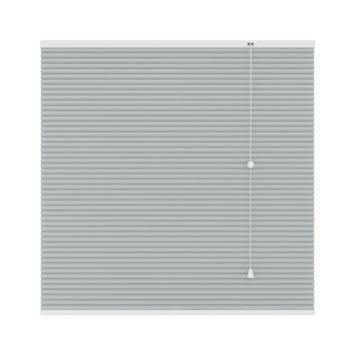 GAMMA plisségordijn duo 6018 licht grijs 80x180 cm