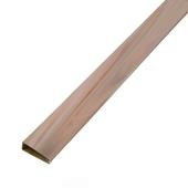 Afwerkingsprofiel licht hout 200 cm