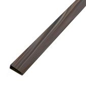 Afwerkingsprofiel donker hout 200 cm