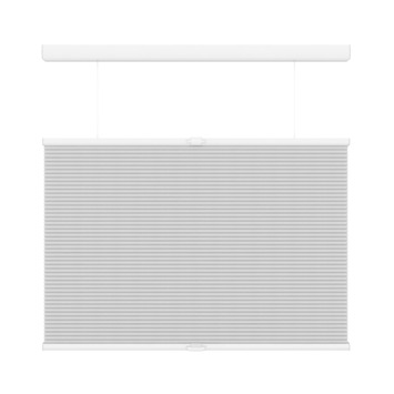 Store plissé duo GAMMA top down bottum up sans cordon 6001 blanc 120x180 cm