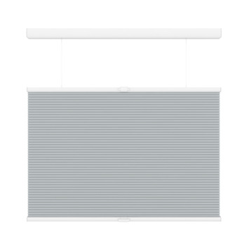 Store plissé duo GAMMA top down bottum up sans cordon 6006 gris clair 120x180 cm