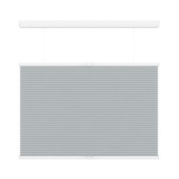 GAMMA plissé dupli TDBU lichtdoorlatend koordloos 6006 licht grijs 180x180 cm