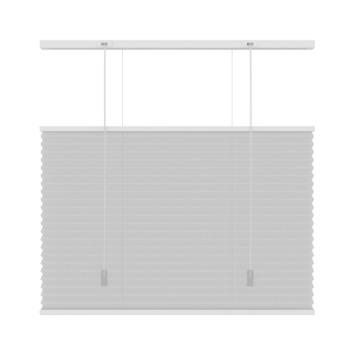 Store plissé GAMMA top down bottom up KL 6010 blanc 120x180 cm