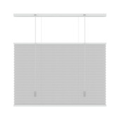 Store plissé top down bottom up GAMMA 6010 blanc 140x220 cm