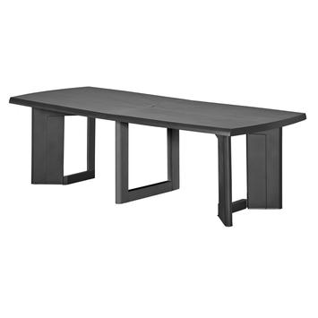 Allibert table New York anthracite | Tables de jardin & salons de ...