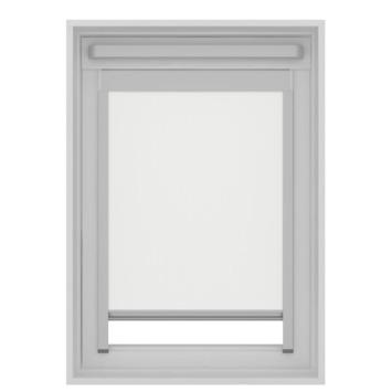 GAMMA dakraam rolgordijn VELUX skylight new generation lichtdoorlatend 7000 wit MK06 78x118 cm
