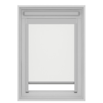 GAMMA dakraam rolgordijn VELUX skylight new generation lichtdoorlatend 7000 wit PK10 94x160 cm
