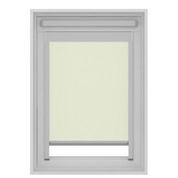 GAMMA dakraam rolgordijn VELUX skylight new generation lichtdoorlatend 7001 ecru UK08 134x140 cm