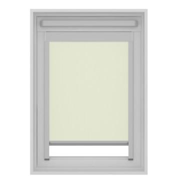 Store enrouleur pour Velux skylight new generation tamisant GAMMA 7001 écru MK04 78x98 cm