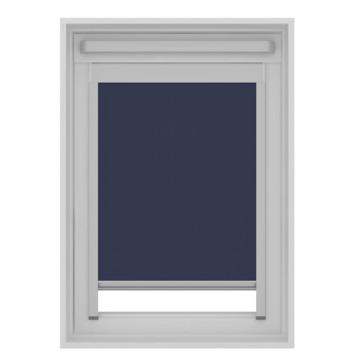 GAMMA dakraam rolgordijn VELUX skylight new generation lichtdoorlatend 7003 blauw PK10 94x160 cm