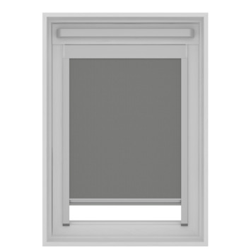 GAMMA dakraam rolgordijn VELUX skylight new generation lichtdoorlatend 7004 grijs UK08 134x140 cm