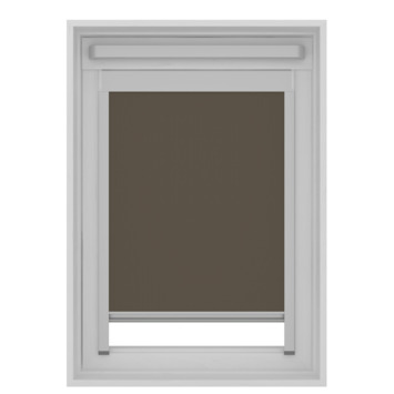 GAMMA dakraam rolgordijn VELUX skylight new generation lichtdoorlatend 7007 bruin UK04 134x98 cm