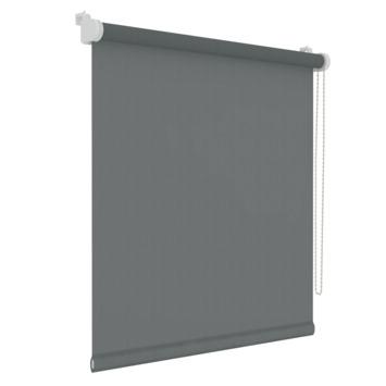 GAMMA rolgordijn draai/kiepraam uni lichtdoorlatend antraciet 5777 45x160 cm
