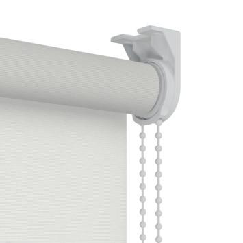 Store enrouleur tamisant GAMMA motif 1224 blanc côtelé 60x190 cm