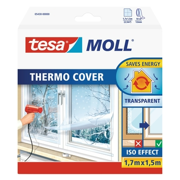 Thermo cover Tesa Moll 2,55 m² transparent