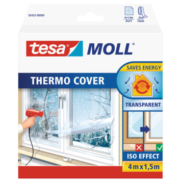 Thermo cover Tesa Moll 6 m² transparent