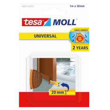 Tesa Moll dorpelstrip universal dorpelstrip, 2jr bruin