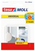 Tesa Moll dorpelstrip universal, 2jr wit