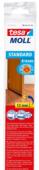 Tesa Moll deurstrip standard dorpelstrip, 4jr licht bruin