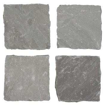 Cobles Kandla Grey 14x14x5 cm - 650 Pièces / 13,0 m2