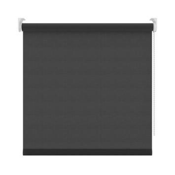 GAMMA rolgordijn lichtdoorlatend uni 1305 zwart 90x250 cm