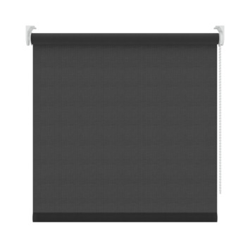 GAMMA rolgordijn effen lichtdoorlatend 1305 zwart 120x250 cm