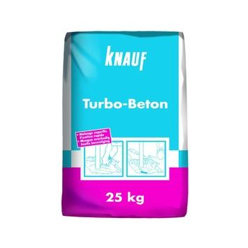Knauf turbobeton - betonmortel grijs 25 Kg