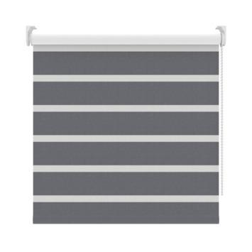 GAMMA rolgordijn dessin verduisterend 2454 grijs 120x190 cm