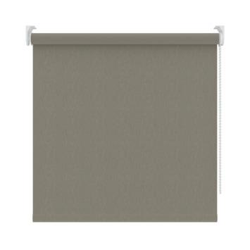 GAMMA rolgordijn verduisterend 3629 wit/grijs 120x190 cm