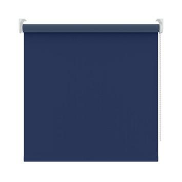 GAMMA rolgordijn effen verduisterend 5740 blauw 180x250 cm