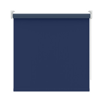 GAMMA rolgordijn effen verduisterend 5740 blauw 210x190 cm