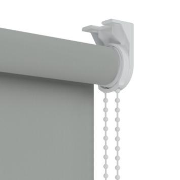 GAMMA rolgordijn verduisterend 5749 grijs 60x190 cm