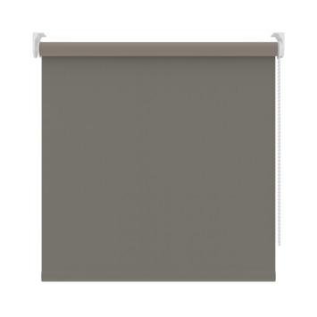 GAMMA rolgordijn verduisterend 5788 wit/grijs 90x190 cm