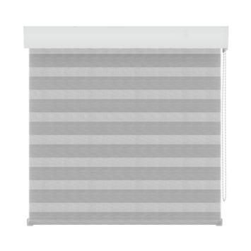 Store ajouré structuré GAMMA 4312 blanc/gris 150x210 cm