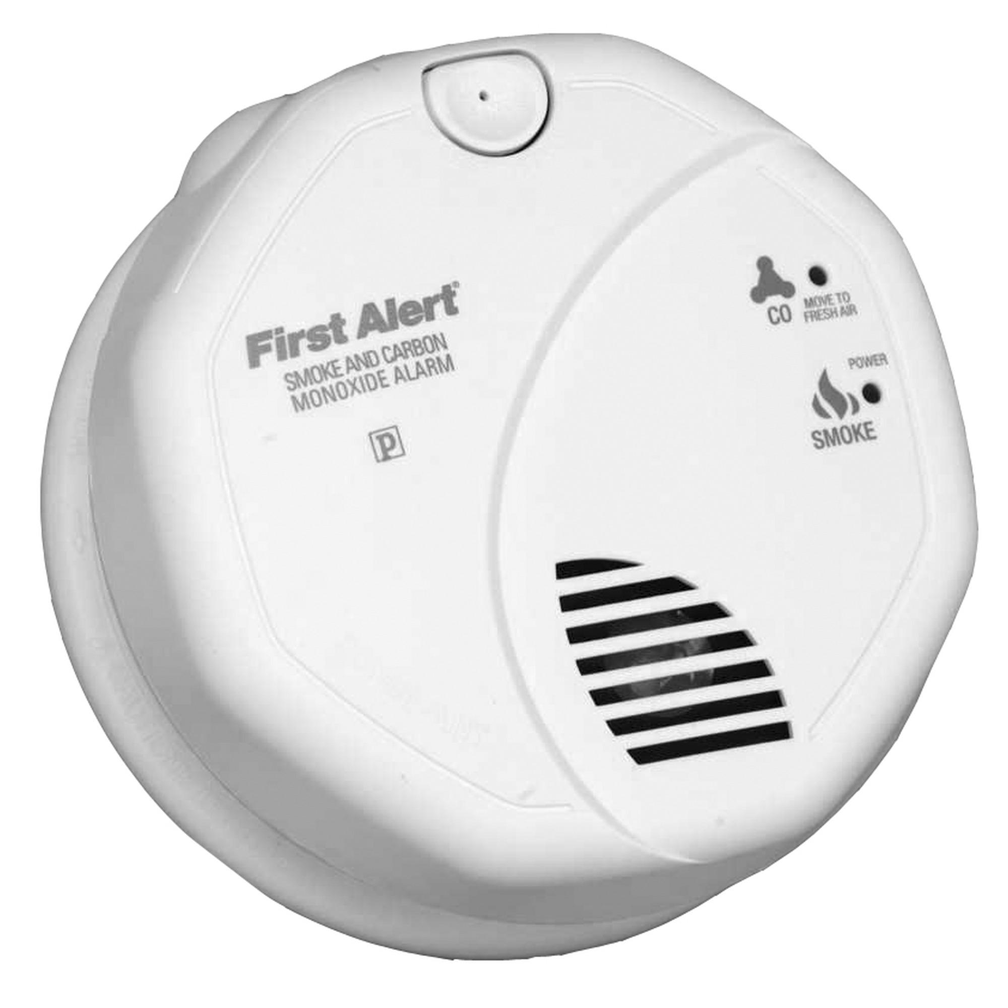 D tecteur de fum e et monoxyde de carbone first alert for Pose detecteur de fumee