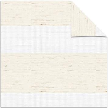 Store ajouré GAMMA 4328 lin blanc 60x160 cm