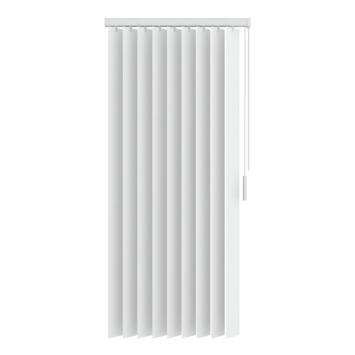 Lamelles verticales 89 mm en synthétique GAMMA 5084 blanc 200x180 cm