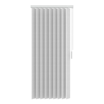 Lamelles verticales 89 mm en tissu GAMMA5700 blanc 250x260 cm